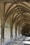 Cloisters at Norwich Cathedral Royalty Free Stock Photography