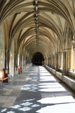 The Cloisters - Norwich Cathedral Royalty Free Stock Photo