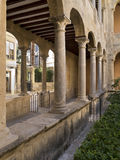 Cloisters - Orihuela - Costa Blanca - Spain. Cloisters of the Holy Cathedral of El Slavador in the town of Orihuela on the Costa Blanca in Spain Stock Photos