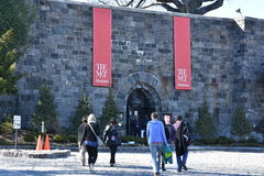 The Cloisters, a part of the Metropolitan Museum of Art, in New York royalty free stock photography