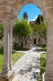 Cloisters San Giovanni Palermo Royalty Free Stock Photo