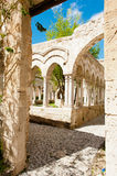Cloisters San Giovanni Palermo Stock Photos