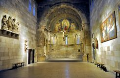 The Cloisters. Sanctuary at the Cloisters museum in New York Royalty Free Stock Photo