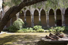 Cloisters in Sorrento, Italy. Royalty Free Stock Image