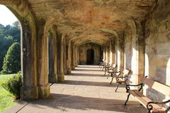 Cloisters in the sun Royalty Free Stock Photography