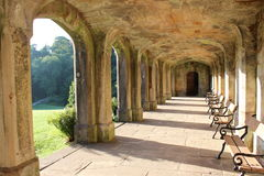 Cloisters in the sun Stock Images