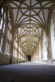 Cloisters at Wells Cathedral Royalty Free Stock Images