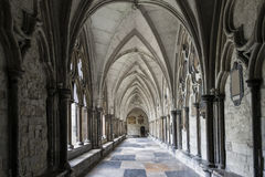 Cloisters Westminster Abbey Stock Images
