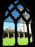 Cloisters of Westminster Abbey Stock Image