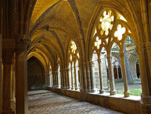 cloisterveruela Royaltyfri Foto