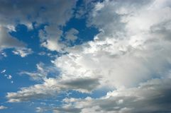 Cloiudy skies Stock Images