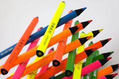 Clolorful pencil Stock Images