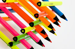 Clolorful pencil Stock Photo