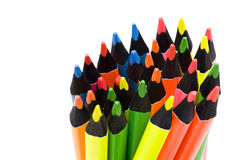 Clolorful pencil Stock Photos
