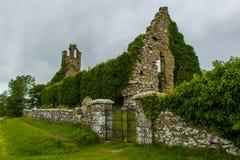 Clomantagh教会 库存图片
