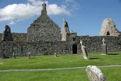 Clonamacnoise, Ierland Royalty-vrije Stock Afbeelding