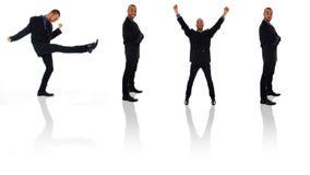 Clone d'homme d'affaires images stock