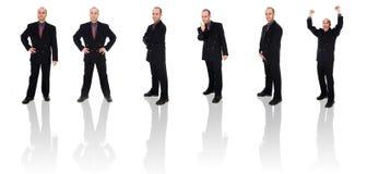 Clone dell'uomo d'affari Immagine Stock