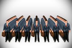 Clone di affari Fotografie Stock Libere da Diritti