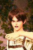 Clone-oid dello stercorario di Ellen da Shingeki nessun Kyojin fotografie stock