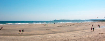 Clonea Beach Stock Images
