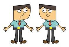Cloning ilustração royalty free