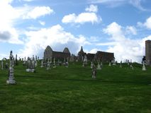 clonmacnoise Ирландия Стоковая Фотография RF