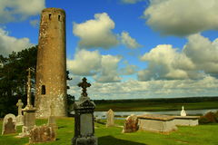 Clonmacnoise Photographie stock