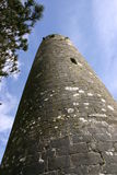 Clonmacnoise. Church tower at Clonmacnoise, Ireland Royalty Free Stock Photography