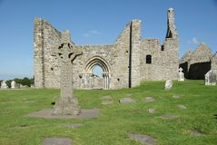 Clonmacnoise, Ierland Royalty-vrije Stock Afbeelding
