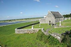 Clonmacnoise, Ierland Stock Fotografie