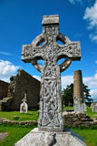 Clonmacnoise, Ireland. Historic heritage of Clonmacnoise, Ireland Stock Photo