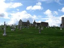 Clonmacnoise, Irland Lizenzfreie Stockfotografie