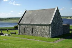 Clonmacnoise, Irlanda Fotografie Stock