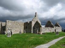 Clonmacnoise, Irlanda Imágenes de archivo libres de regalías