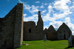 Clonmacnoise, Irlanda Foto de archivo