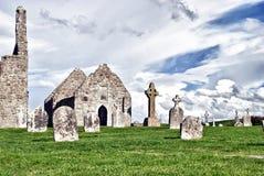 clonmacnoise monaster Obraz Stock