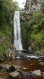 Clonmany瀑布爱尔兰 免版税图库摄影