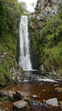 Clonmany Waterfall Ireland. The Clonmany Waterfall in County Donegal, Ireland Royalty Free Stock Photography