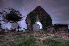 Clonpriest坟园2 免版税库存照片