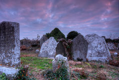 Clonpriest-Friedhof 1 Lizenzfreie Stockfotos