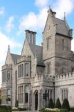 Clontarf slott. Huvudingång. Dublin. Irland Arkivbilder