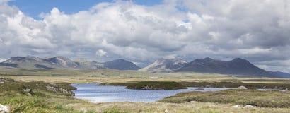 Cloonagat Lough Arkivfoto