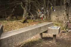 Clootie Well at Culloden forest in Scotland. Stock Photography