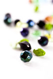 Clorfull glass beads Royalty Free Stock Photography