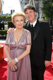 Cloris Leachman, Calvin Klein Royalty Free Stock Images
