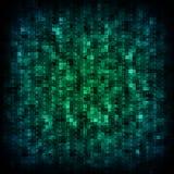 Clororful matrix background Stock Photo