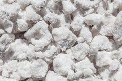 Cloruro di sodio (NaCl) fotografia stock