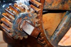 clos acima da engrenagem velha durty Fotos de Stock Royalty Free