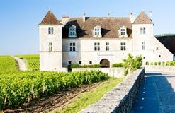 Clos Blanc De Vougeot Castle Royalty Free Stock Image